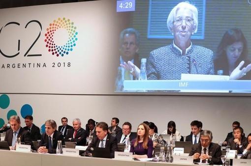 G20 kêu gọi đối thoại giảm căng thẳng thương mại