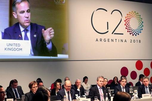 G20 chưa tìm được sự đồng thuận trong giải quyết bất đồng thương mại