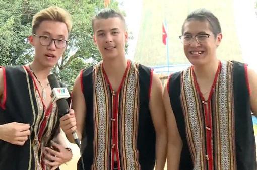 Kiều bào trẻ trải nghiệm văn hóa Tây Nguyên