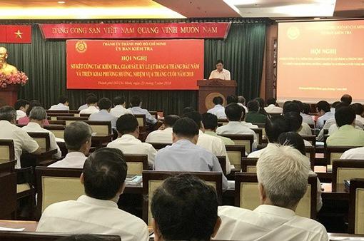 TP.HCM tổ chức hội nghị sơ kết công tác giám sát kỷ luật Đảng