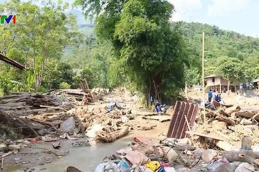 Yên Bái nỗ lực khắc phục hậu quả sau mưa lũ