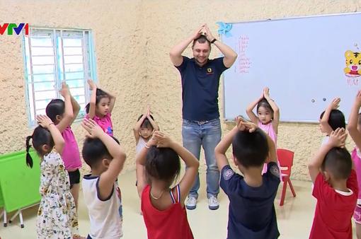Hiệu quả từ phương pháp dạy học tiếng Anh cho trẻ qua bài hát