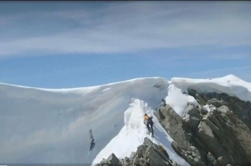 Những màn thử sức mạo hiểm trên núi cao
