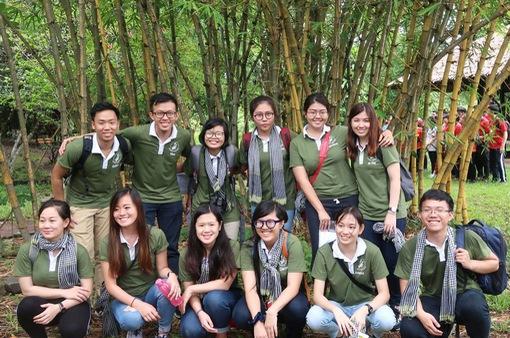 Ấm lòng các dự án cộng đồng của đoàn đại biểu Việt Nam SSEAYP 45