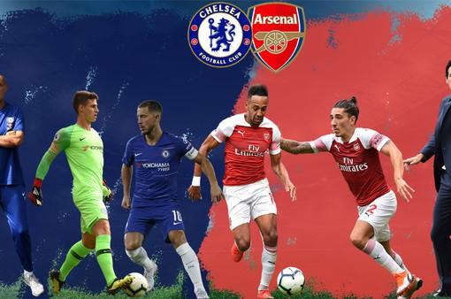Lịch trực tiếp bóng đá Ngoại hạng Anh vòng 2: Sôi động vcùng derby Chelsea - Arsenal