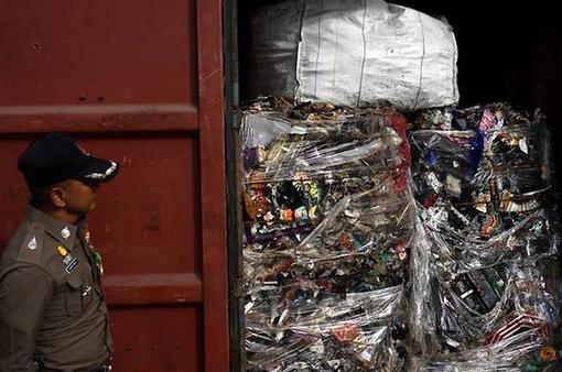 Thái Lan cấm nhập khẩu phế liệu nguy hại