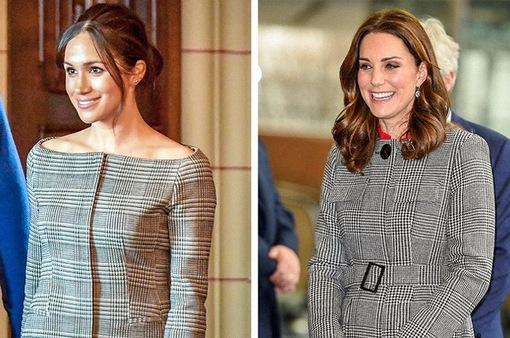 Học lỏm bí quyết thời trang sành điệu của hai nàng dâu Hoàng gia Anh