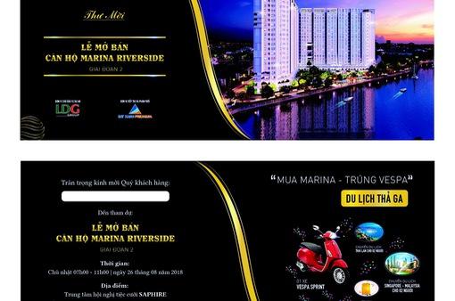 Đất xanh Premium mở bán đợt cuối căn hộ Marina Riverside