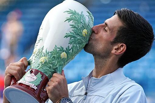 Vượt qua Federer, Djokovic đăng quang Cincinnati mở rộng 2018
