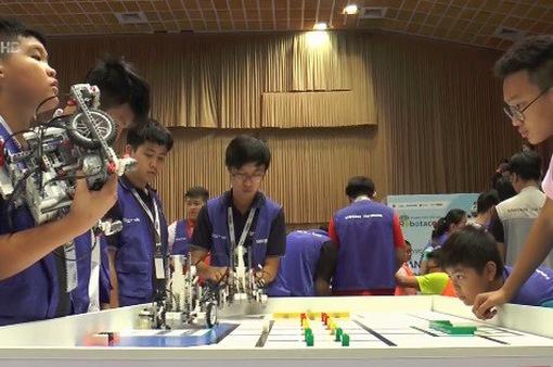 283 đội tham dự chung kết Cuộc thi Tài năng Robot - Robotacon WRO 2018