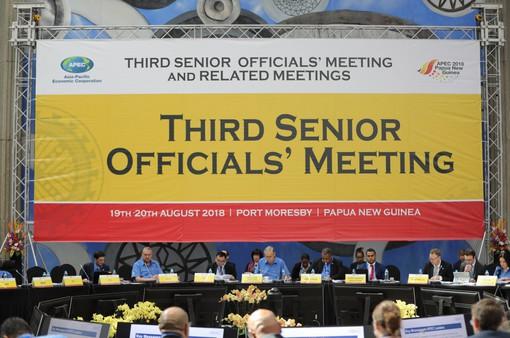 Hội nghị thứ 3 các quan chức cao cấp Năm APEC 2018 tiếp tục thúc đẩy hợp tác và liên kết kinh tế khu vực
