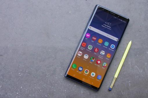 Samsung nhận tin vui đầu tiên cùng Galaxy Note 9