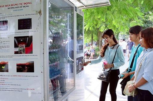 Hà Nội sẽ lắp máy bán hàng tự động