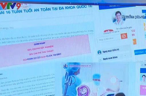 Nở rộ dịch vụ phá thai cực kỳ nguy hiểm tại TP.HCM