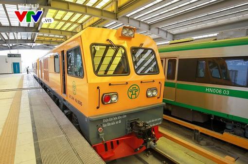 Tuyến đường sắt Cát Linh - Hà Đông sẽ tiến hành chạy thử 5 tàu