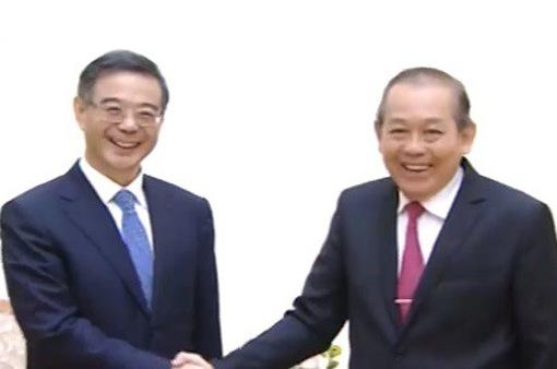 Tăng cường hợp tác tòa án Việt Nam - Trung Quốc