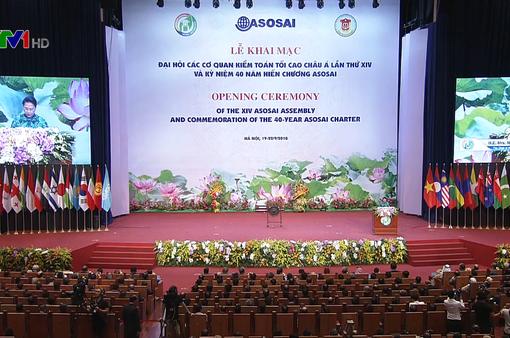 Khai mạc Đại hội Tổ chức các Cơ quan Kiểm toán tối cao châu Á (ASOSAI)