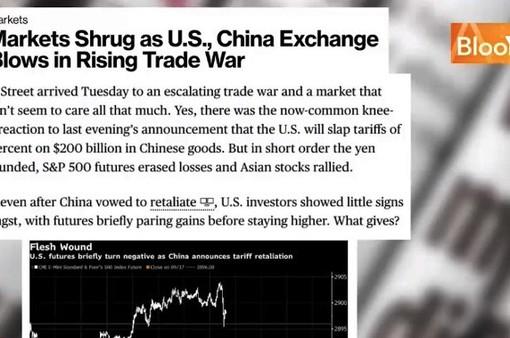 Nhà đầu tư Mỹ lạc quan về chiến tranh thương mại Mỹ - Trung