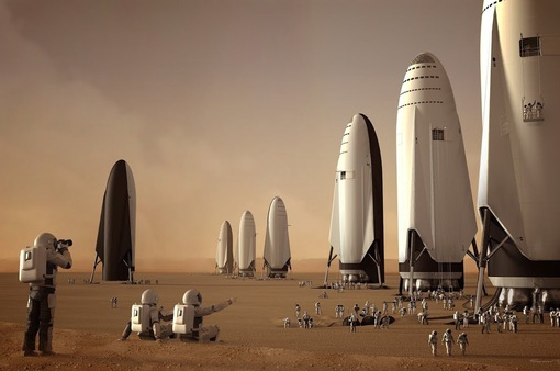 Chiêm ngưỡng tàu vũ trụ 118m của SpaceX