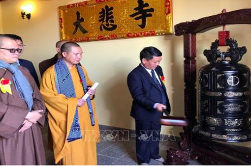 Lần đầu tiên Việt Nam có ngôi chùa được công nhận tại Hungary