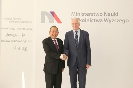 Việt Nam - Ba Lan tăng cường hợp tác trên nhiều lĩnh vực
