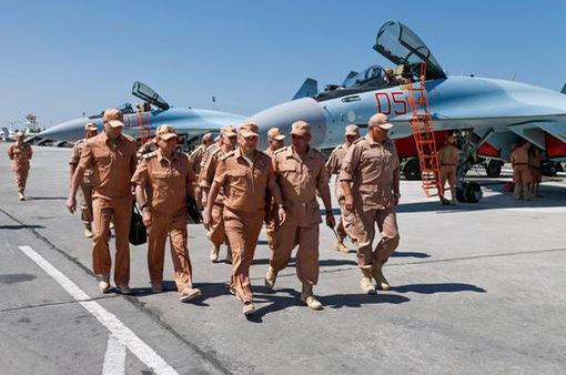 Nga tăng cường an ninh cho các căn cứ quân sự tại Syria
