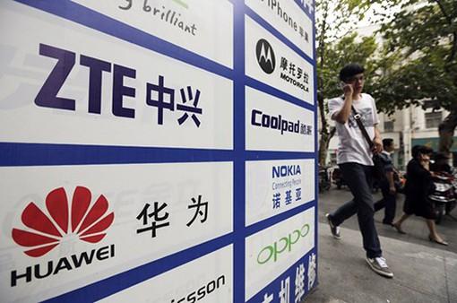 Các hãng công nghệ Trung Quốc mất 168 tỷ USD