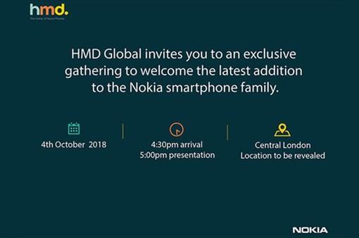 Một chiếc smartphone Nokia mới sẽ ra mắt vào ngày 4/10