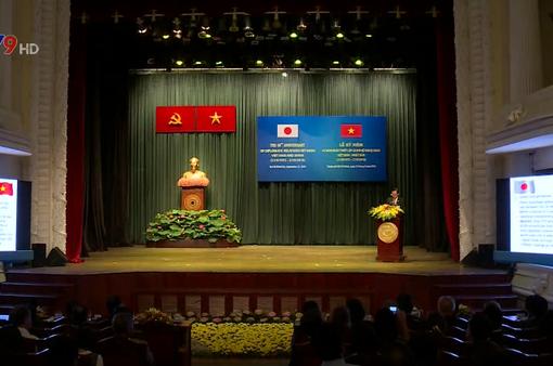 Kỷ niệm 45 năm thiết lập quan hệ ngoại giao Việt Nam - Nhật Bản