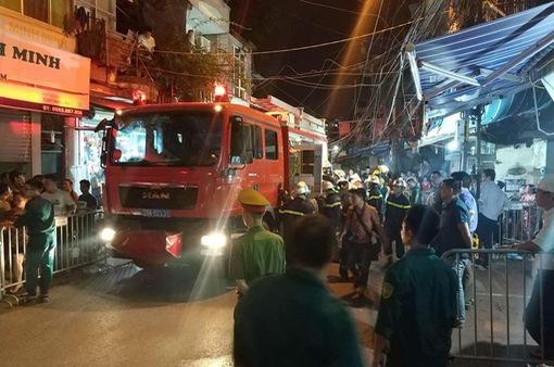 Bệnh nhi 2 tháng tuổi có thể là con của cặp vợ chồng thiệt mạng trong vụ cháy trên phố Đê La Thành