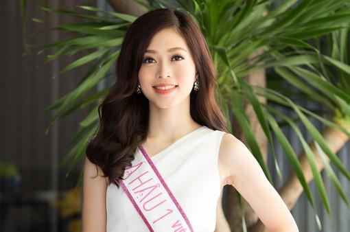Á hậu 1 Phương Nga chỉ có 2 tuần chuẩn bị tham dự Hoa hậu Hòa bình Quốc tế 2018