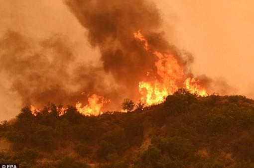 Khắc phục hậu quả cháy rừng ở Mỹ gặp khó khăn