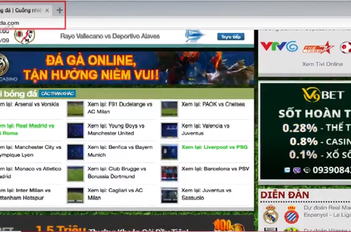 Khó chặn nguồn quảng cáo của các trang mạng vi phạm bản quyền