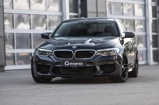 """G-Power giới thiệu BMW M5 độ """"khủng"""" 790 mã lực"""