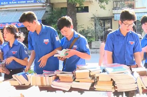 Ngày hội thanh thiếu nhi với văn hóa đọc và đổi sách cũ 2018