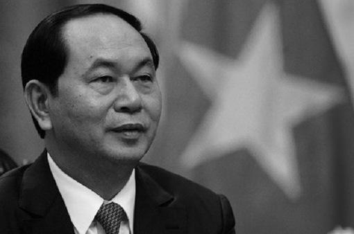 Cơ quan chính phủ Thái Lan treo cờ rủ tưởng niệm Chủ tịch nước Trần Đại Quang