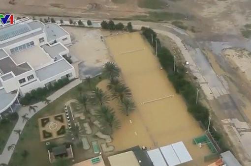Lũ lụt tại Tunisia, 5 người thiệt mạng