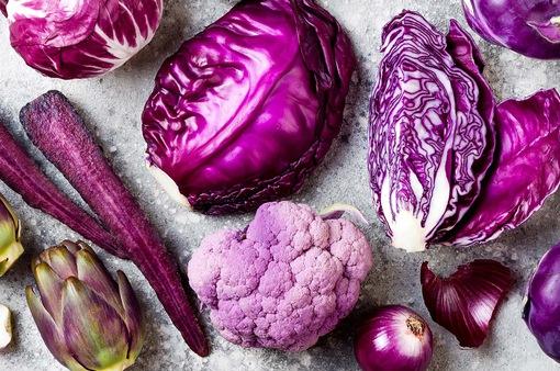 Thực phẩm màu tím được ưa chuộng trong năm 2018