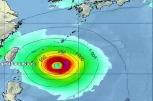 Đài Loan (Trung Quốc) chuẩn bị đối phó siêu bão Trami
