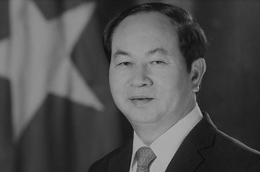 Lãnh đạo các nước gửi điện chia buồn Chủ tịch nước Trần Đại Quang từ trần