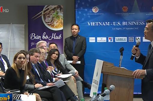 Diễn đàn kinh doanh Việt Nam - Hoa Kỳ: Trao đổi, tìm kiếm cơ hội hợp tác đầu tư