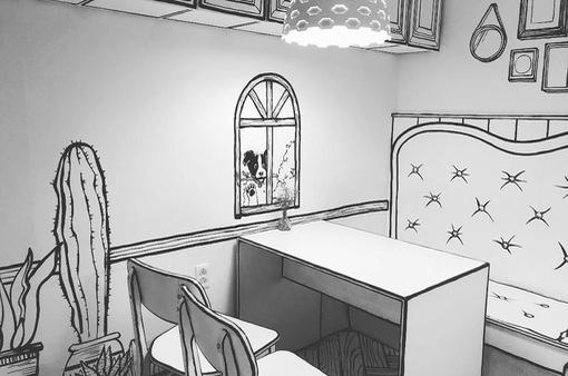 Quán cà phê khiến du khách ngỡ như bước vào thế giới truyện tranh