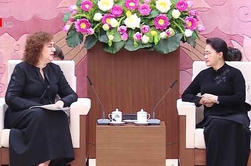 Chủ tịch Quốc hội Nguyễn Thị Kim Ngân tiếp Phó Chủ tịch Duma Quốc gia Nga