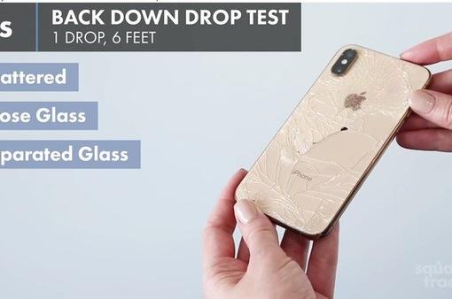 Bộ đôi iPhone XS và XS Max gây thất vọng trong bài kiểm tra độ bền khi rơi