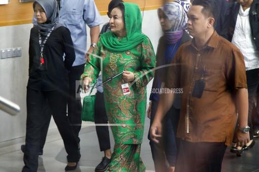 Malaysia thẩm vấn vợ cựu Thủ tướng Najib Razak