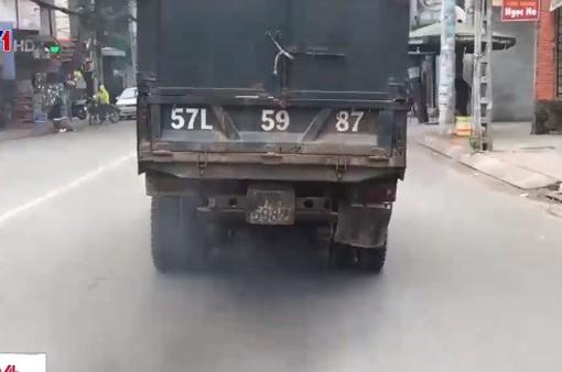 Ô nhiễm khí thải từ phương tiện giao thông