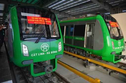 Hà Nội lên phương án vận hành đường sắt Cát Linh - Hà Đông