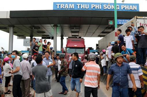 Người dân đồng thuận với mức phí tại trạm BOT Sông Phan