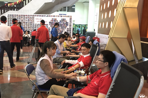 Khai mạc ngày hội hiến máu Chủ Nhật Đỏ 2018 dự kiến thu nhận 35.000 đơn vị máu
