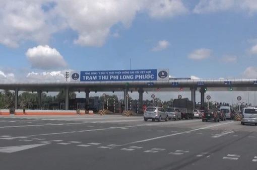 """Lắp biển """"Cấm dừng xe quá 5 phút"""" tại các trạm BOT"""